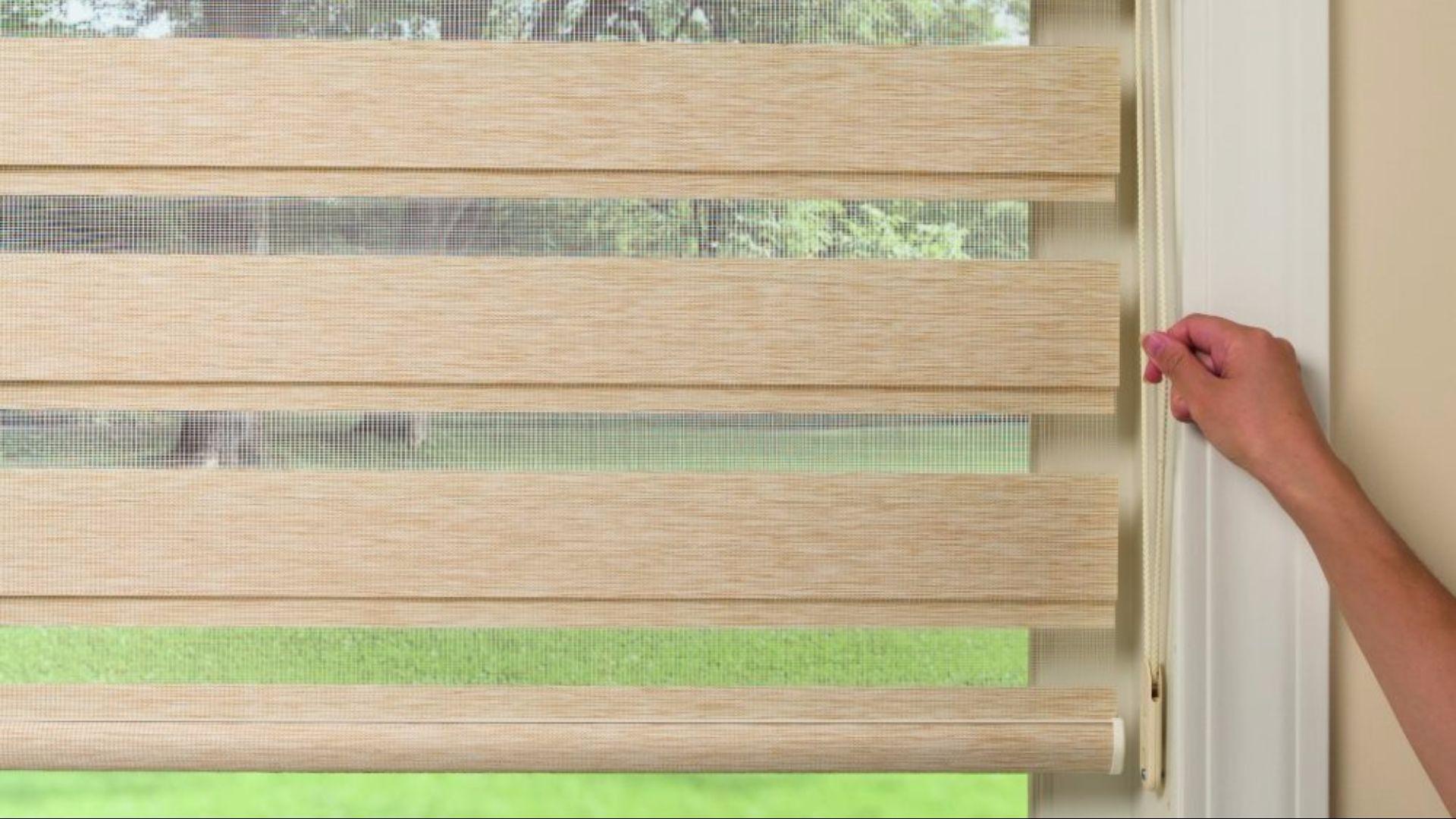 watch youtube lock honeycomb cordless fashions tandem shade blinds lift alta window